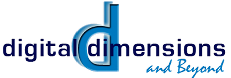 Digital Dimensions &  Beyond Logo